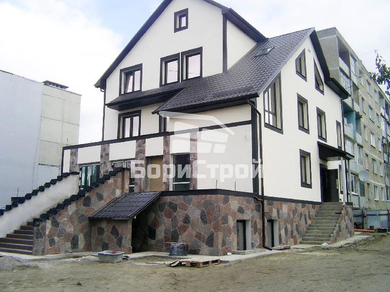 Штукатурка фасадов домов в Борисове, Жодино, Минске