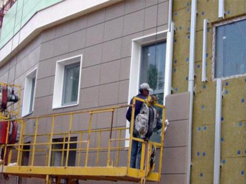 Отделка фасада керамогранитом в Борисове, Жодино, Минске