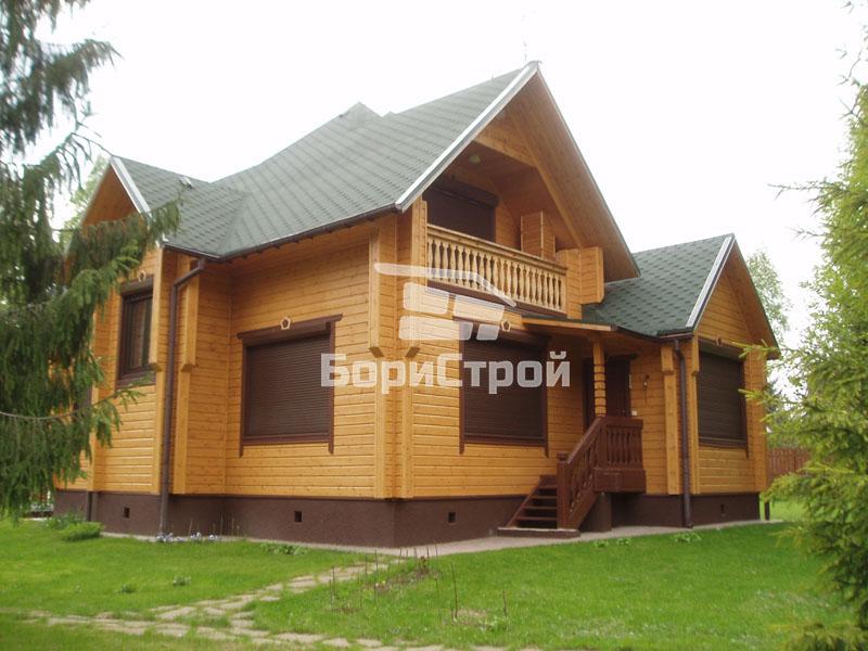 Строительство дома из клееного бруса в Борисов, Жодино, Минске