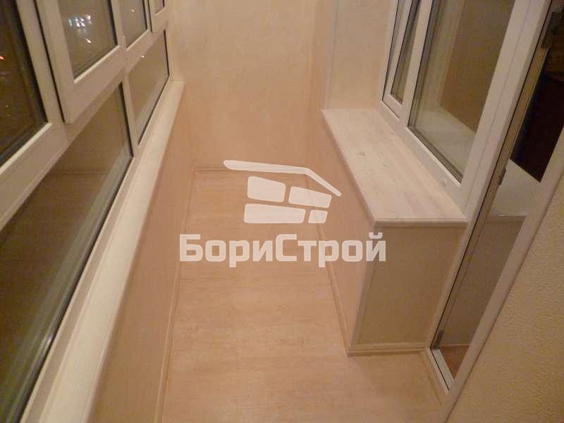 Отделка балкона в Борисове, Жодино, Минске