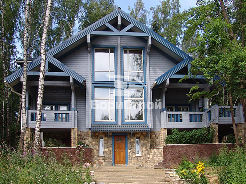 Строительство дома из клееного бруса в Борисове, Жодино, Минске