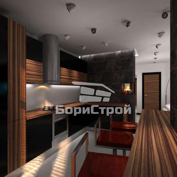 Дизайн-проект квартиры в Борисове, Жодино, Минске