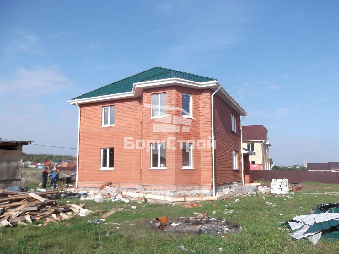 Строительство 2-х этажного дома из газобетона в Борисове