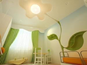 Интерьер комнаты из гипсокартона в Борисове
